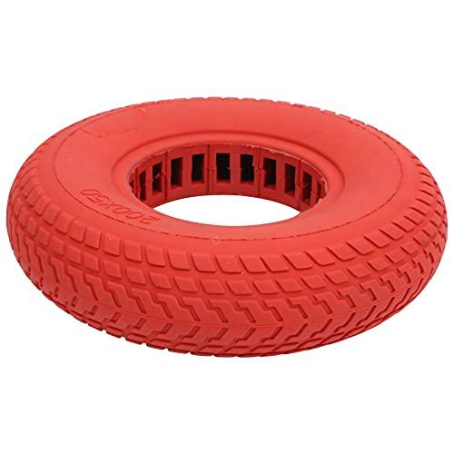 WYDM Neumáticos sólidos de la Vespa eléctrica, diseño Hueco del neumático de Goma de Las Ruedas de la Vespa de 200x50m m a Prueba de explosiones