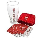 Liverpool FC - Set oficial de bar (Talla Única) (Rojo/Blanco)