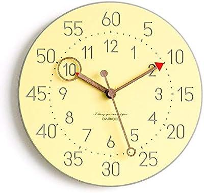 G. Medalis Wall Clock Quartz Design Non-ticking Silent Home/Kitchen / Office