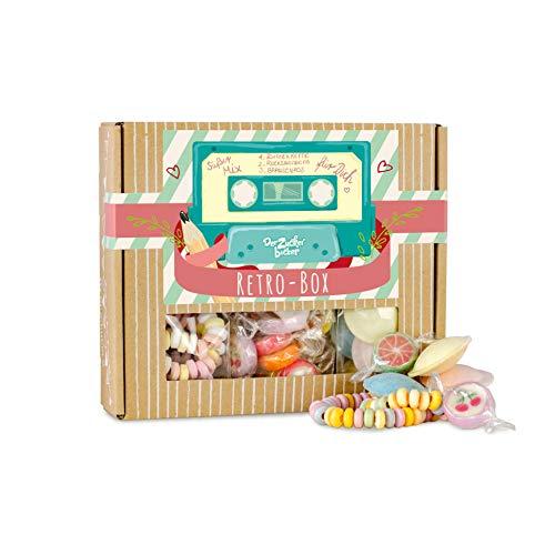 Retro Box, toller Süßigkeiten-Mix aus der Kindheit, süße Retro-Geschenk-Idee für Freunde