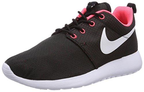 Nike Roshe Run 511882-090, Damen Laufschuhe Training, Schwarz (Schwarz/Weiß-Hyper Punch 090), EU 41