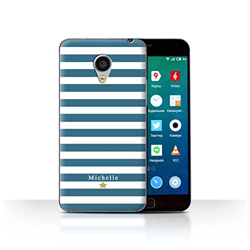 Stuff4Phone Case/Cover/Skin/mzumx4p/Custom Stripes/Striped Collection Coeur Rayure Cerise
