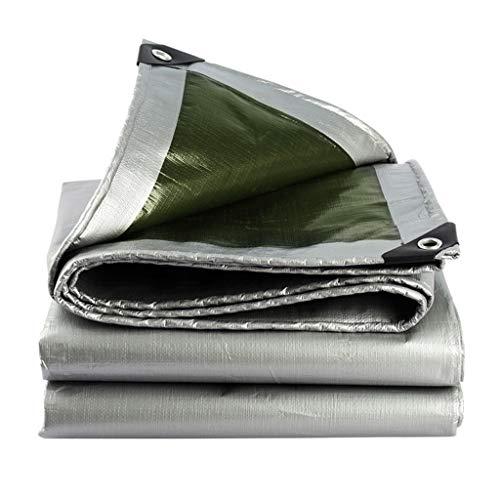 ASKLKD Wasserdichte Plane, Campinganhänger-Zelt-Garten-Regen-Abdeckungs-Planen-Blatt For Das Kampieren Und Im Freien - UV-beständig (Size : 4mx8m(13ftx26ft))