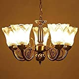 Ultimate Brass Chandelier/Jhoomer/Pendent/Ceiling Decorative Lamp 5 Light Traditional