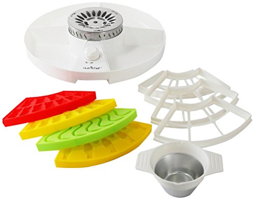 Great Deal! Upgraded NutriChef Gummy Candy Maker - Electric Candy Maker, Includes 4 Candy Molds, Sha...