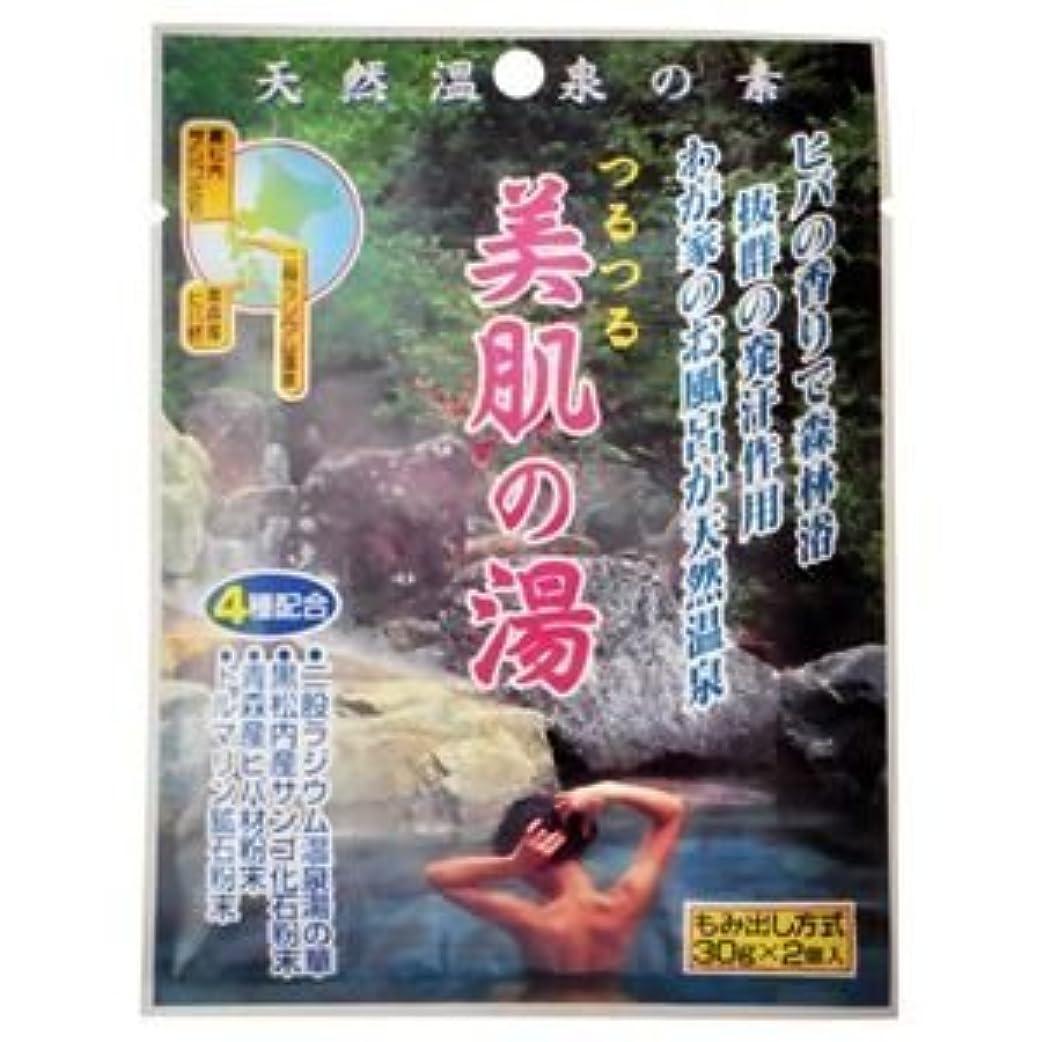 自分自身振るう時間厳守天然温泉の素 つるつる美肌の湯 30g×2個入(入浴剤) (10個セット)