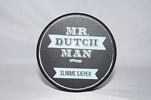 Mr. Dutchman Gomina fina SJEPER   Gomina para el cabello a base de agua   Pomada mate para hombres   fijación ligera a media   Aroma masculino y picante   ideal para un aspecto natural   100 ml
