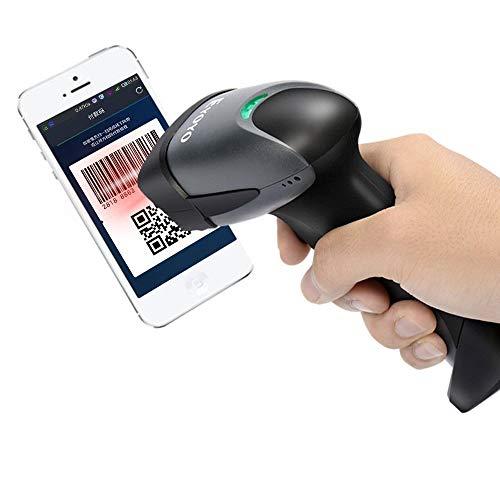 Eyoyo EY-001 Lector Código QR escáner de Mano con Cable 1D