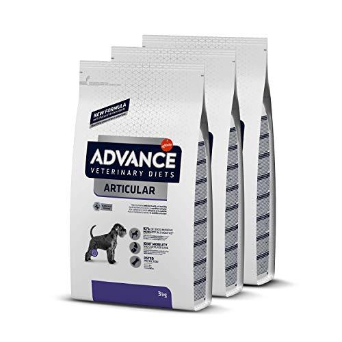 ADVANCE Veterinary Diets Articular Care Adult - Pienso Para Perros Adultos Con Problemas Articulares - Pack De 3 x 3 kg - Total 9 kg