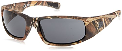 Smith Optics Elite Hideout Tactical Sunglass, Gray, Realtree Max 4
