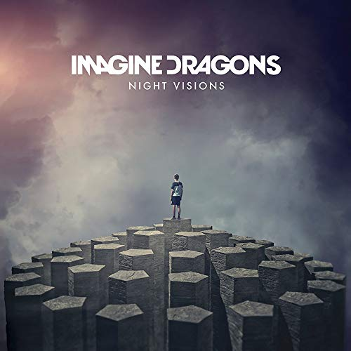 Lost Posters Poster-Album-Cover mit Dicker Imagine Dragons: Night Visions Music 2018 Giclée-Platten-Nachdruck #'d/100!! 30,5 x 30,5 cm