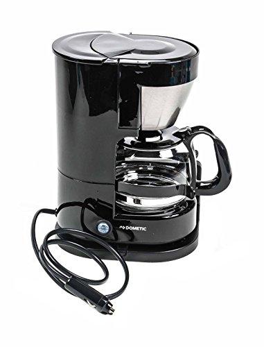 Dometic! LKW Kaffeemaschine 24 Volt 300 Watt für 5 Tassen, mit Transportsicherung, Wandmontage oder Bodenmontage, Beleuchteter EIN - Aus-Schalter