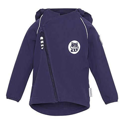 Racoon Unisex-Child Softshell Jacket, Eclipse, 98