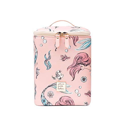 Petunia Pickle Bottom Cool Pixel Plus Insulated Snack/Bottle Holder in Little Mermaid