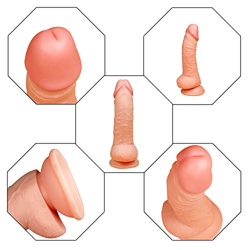 7.78 in Realistic Soft-Ďîldɔ Women Massage Toys for Women and Wife Zqxmm
