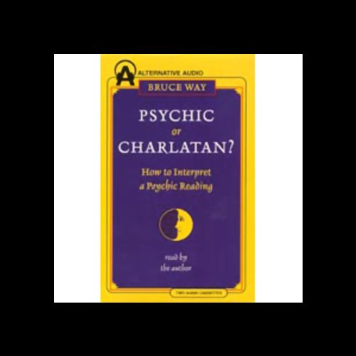 Psychic or Charlatan? audiobook cover art