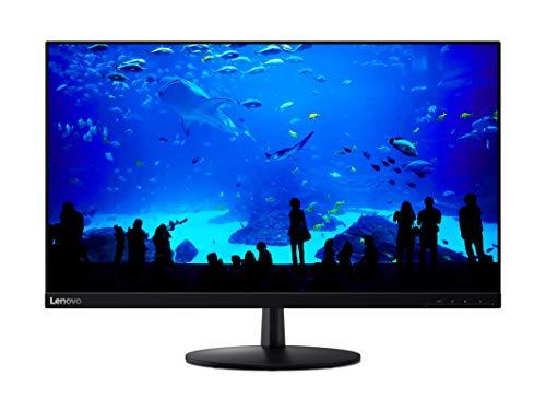 Lenovo L28u-30 71,12 cm (28 Zoll, 3840x2160, UHD, 60Hz, WideView, entspiegelt) Monitor (HDMI, DisplayPort, 4ms Reaktionszeit) schwarz