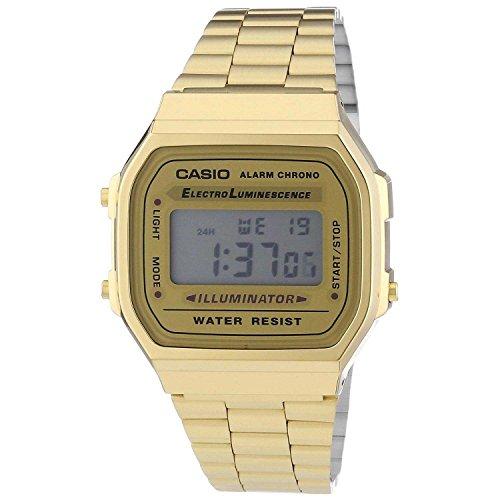 Preisvergleich Produktbild Casio Collection Unisex Retro Armbanduhr A168WG-9EF