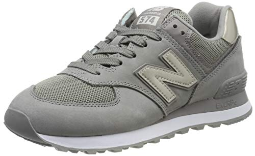 New Balance Damen 574v2 Sneaker, Grau (Grey), 39 EU