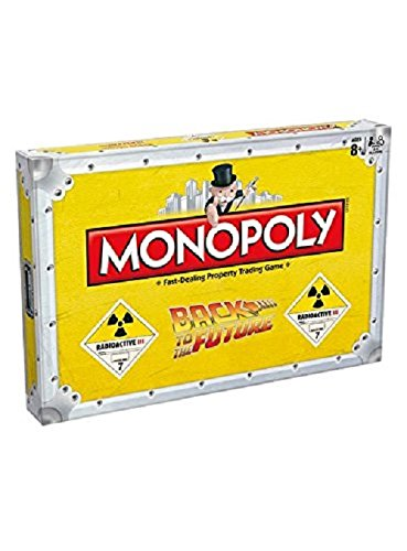 Winning Moves Back TO The Future Monopoly