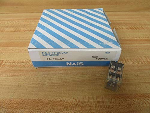 Matsushita Electric HL2-H-DC24V HL-Relay AP5222K (Pack of 20)