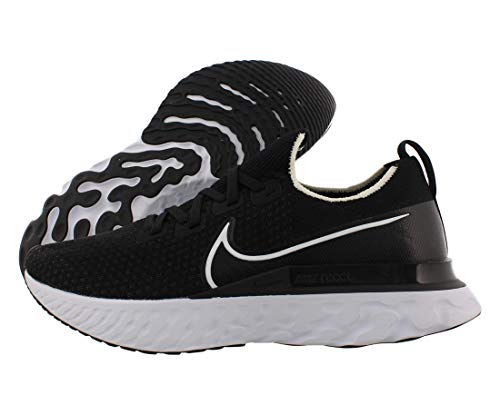 Nike Men's React Infinity Run FK Running Shoe Black/White/Dark Grey 10.5