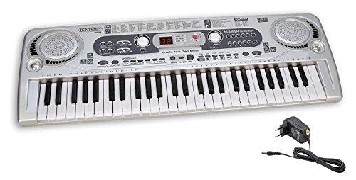 Bontempi- Tastiera 54 Tasti con Presa USB per Lettura Brani Mp3, 16 5415