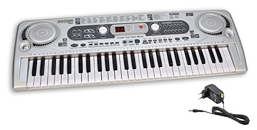 Bontempi 16 5415 Digitales Keyboard, grau