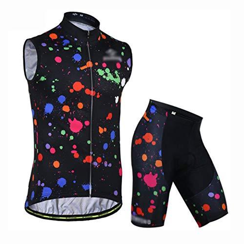 YXX Maillot Ciclismo Hombre Ropa Ciclismo Y Culotte Pantalones Deportivo con 3D...