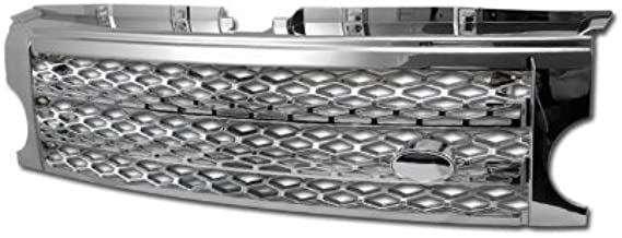 S & T RACING INC Chrome Sport MESH Front Bumper Grill Grille 2005-2009 for LR3 Discovery 3
