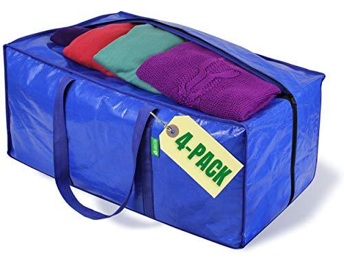 Jumbo Heavy-Duty Moving Bags, Cloth…