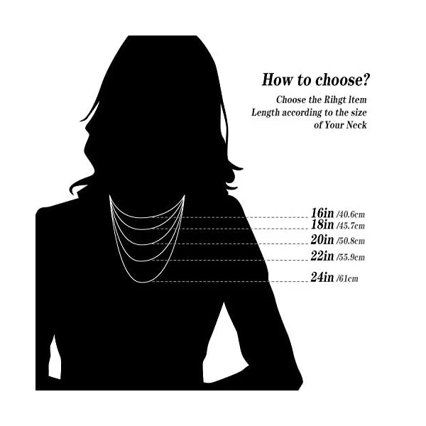 Fodizi 18K Gold Sterling Silver Chain for Necklace Women Girl Italy Silver Chain Necklace 0.8mm 925 Sterling Box Chain – 16/18/20/22/24 Inch