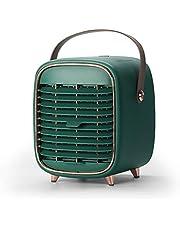 【2020最新バージョン】 冷風機 卓上冷風機 冷風扇 冷風扇ミニ ミニクーラー USB充電式 送風 冷却機能 空気清浄機能 加湿機能 風量3段階調整 氷いれ可能 上下角度調整可能 熱中症と暑さ対策 2000mAh大容量電池 手提げ式 小型 静音 省エネ オフィス 野外のテント 寝室 自宅用