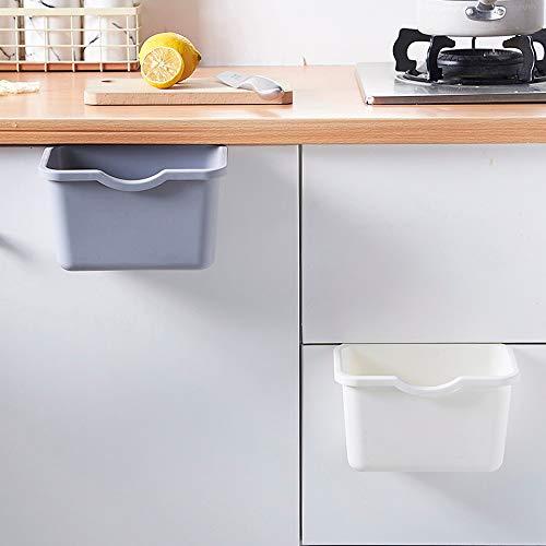 Multifunktionsbeh?lter,Rifuli?zum Einh?ngen Bio Abfallbeh?lter Entsorgung Küchenschrank-Tür-h?ngender Abfall-Mülleimer-Abfall-Beh?lter