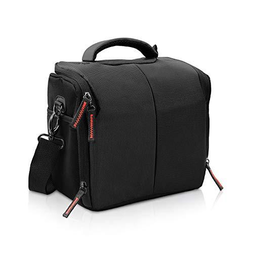FOSOTO Camera Case Bag Compatible for Nikon D3300 D3400 D5300 D5500 D5600 D7200 D7100 D500 D90 D60 D750 D810 D610,Canon EOS Rebel T5i T6 T7i XT SL1 T3i T4 70D 80D 5D Mark 6D 7D,Sony a99II SLR Camera