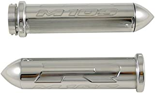 Yana Shiki CA3202P Chrome Standard Style Grip with Pointed Ends for Suzuki Boulevard M109R