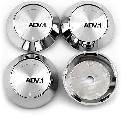 AJJZX 4 Piezas de Cubierta Central de Rueda de Coche, Adecuada para XT7 Rays TE37 CE28N 65mm llanta de aleación Cubierta de Cubo Central Forma de Insignia Accesorios de decoración