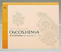 O's COS.HENNA【オーズコスドットヘナ】80g×2個セット (ゴールドイエロー)
