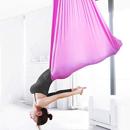 FLY FLU Amaca Yoga Antigravity, Amaca Aerea per Yoga Altalena per Yoga Altalena Yoga Strumenti Invertiti Set per Yoga Aereo Amaca per Yoga Ad Alta Quota Coperta Portante Circa 500 kg