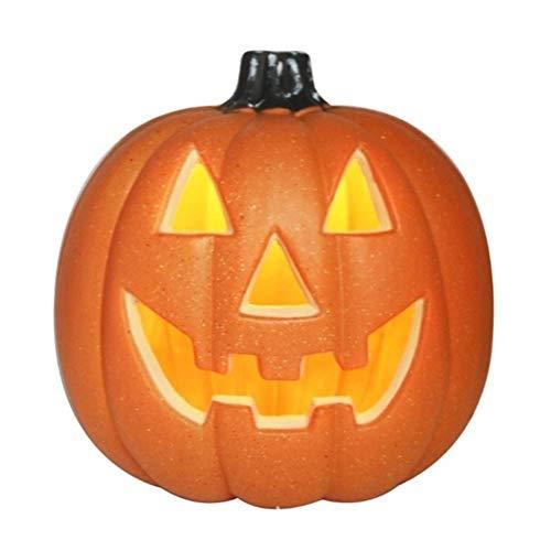 AJH lebensechte Halloween-Dekorationen, kreative Laterne Halloween-Lichter, Requisiten Kürbis Halloween-Dekorationen im Freien ist geeignet für Zuhause, Bar Dekoration.Weihnachtsd