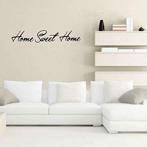Home Sweet Home Selbstklebende Wasserdichte PVC Fliesen Boden Wandaufkleber Abnehmbare DIY 3D Aufkleber Küche Badezimmer Wohnzimmer Boden TV Hintergrund Decor art