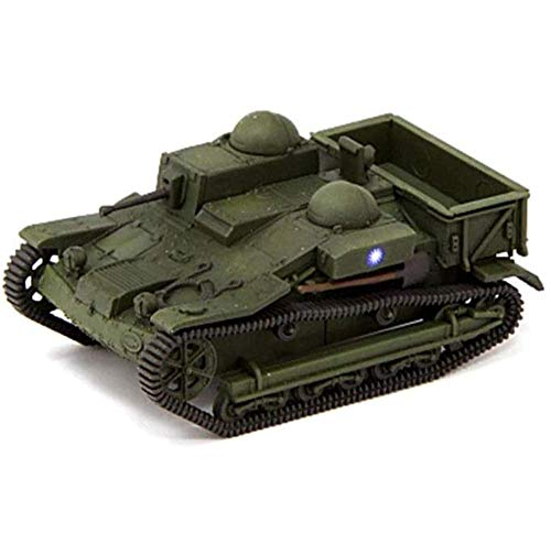 Yxxc Model Engine Kits 1:72 Scale Diecast Tank Plastic Model, UE Light Armored Vehicle, Military Toys and Gifts