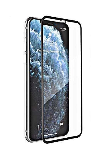 Nishtech® Edge to Edge 11D Tempered Glass Screen Protector for Iphone X/XS/11 pro with installation kit