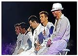 jiayouernv Backstreet Boys Rockband Poster Klares Bild