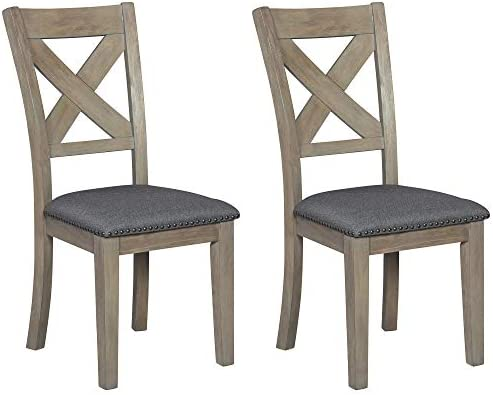 Best Signature Design by Ashley Aldwin Dining Room Chair, Gray
