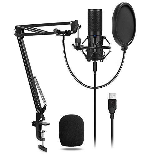 TONOR USB Microphone Kit Q9 Condenser Computer Cardioid...