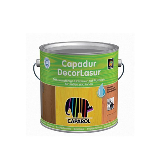 Caparol Capadur Decorlasur Color - Holzlasur 2,5 Liter Nussbaum