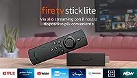 Fire TV Stick Lite con telecomando vocale Alexa | Lite (senza comandi per la TV), Streaming in HD, modello 2020