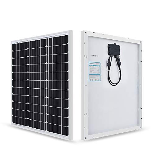 Renogy 50 Watt 12 Volt Monocrystalline Solar Panel (Compact Design)