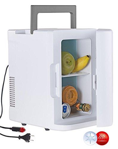 Rosenstein & Söhne Mobiler Kuehlschrank: Mobiler Mini-Kühlschrank mit Wärmefunktion, 12 & 230 V, 8 Liter (Minikühlschränke)